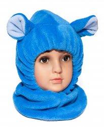Caciuli fesuri cagule groase copii  - Cagule copii de iarna G9 maro 1-5ani