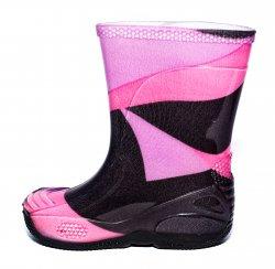 Cizme cauciuc copii  - Cizme cauciuc fete de ploaie 2 mov roz 20-30