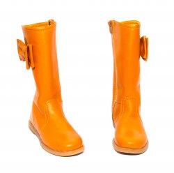 Cizme copii  - Cizme fete pj shoes Ada camel 27-36