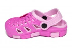 Crocs copii  - Crocsi fete de plaja 5668 roz 18-35