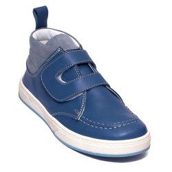 Ghete copii  - Ghete copii din piele pj shoes Mateo negru arici 27-36