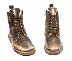 Ghete blana copii  - Ghete copii blana pj shoes King kaki 27-36