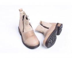Ghete copii  - Ghete copii Pj Shoes Fabio bej