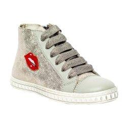 Ghete copii  - Ghete fete pj shoes Rebel argintiu 27-36