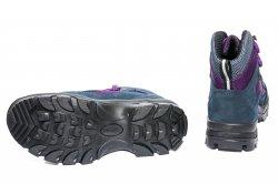 Ghete goretex copii  - Ghete copii goretex waterproof 11260 blu mov 36-40