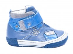 Ghete copii  - Ghetute baieti piele pj shoes Russia albastru 20-29
