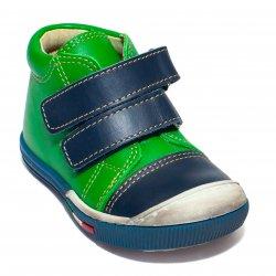 Ghete copii  - Ghetute copii piele avus 768 blu verde 19-26
