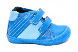 Ghete copii  - Ghetute copii piele pj shoes Seby albastru 20-26