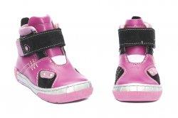 Ghete copii  - Ghetute fete piele pj shoes Russia roz 20-29