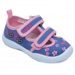 Tenisi copii  - Incaltaltaminte fete picior lac cu brant din piele 20-004 pink 20-25