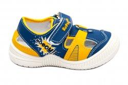 Tenisi copii  - Incaltaminte copii 968 albastru galben 20-25