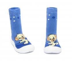 Tenisi copii  - Incaltaminte copii flexibila de interior catel albastru 22-30