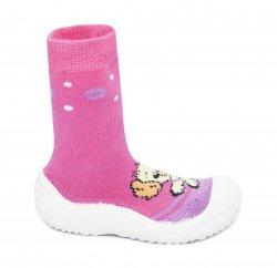 Tenisi copii  - Incaltaminte fete flexibila de interior catel roz 22-30
