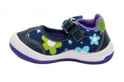 Tenisi copii  - Incaltaminte fete textil 967 blu mov 20-25