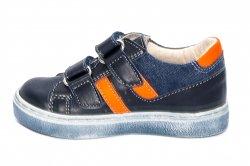 Pantofi sport copii  - Pantofi baieti sport hokide 316 blu port 22-32