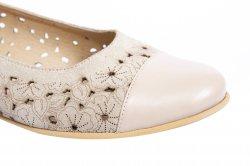 Pantofi balerini dama  - Pantofi balerini dama perforati laser 26 blu