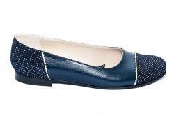Pantofi balerini dama  - Pantofi balerini dama piele naturala 26 blumarin pipit 34-41