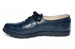 Pantofi copii  - Pantofi copii piele TS 026s1 blumarin 34-41