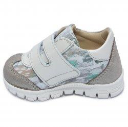 Pantofi sport copii  - Pantofi sport copii cu talonet pj shoes Tokyo camuflaj verde 18-26