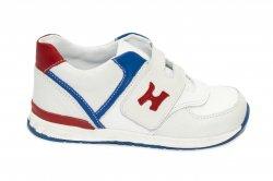 Pantofi sport copii  - Pantofi copii sport hokide 395 alb rosu blu 19-25