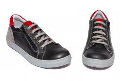 Pantofi sport copii  - Pantofi copii sport hokide 400 negru red 26-37