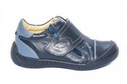 Pantofi sport copii  - Pantofi copii sport piele pj shoes Goal blu 27-37