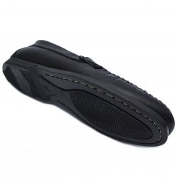 Pantofi barbati  - Pantofi mocasini barbati flexibili piele 350 negru 39-46