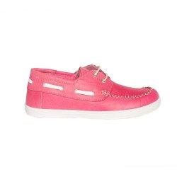 Pantofi copii  - Pantofi mocasini fete copii piele pj shoes Jose fuxia 27-36