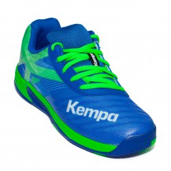 Pantofi sport copii  - Pantofi sport Kempa Wing 2.0 junior 2019 albastru verde 34-39