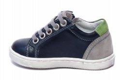 Pantofi sport copii  - Pantofi sport baieti hokide 400 blu verde 20-37