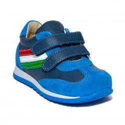 Pantofi sport copii  - Pantofi sport copii avus 797 denim 19-27