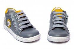 Pantofi sport copii  - Pantofi sport copii hokide 400 gri galben 20-37