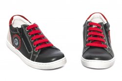 Pantofi sport copii  - Pantofi sport copii hokide 400 negru rosu 26-37