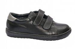 Pantofi sport copii  - Pantofi sport copii pj shoes Skate negru box 27-36