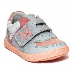 Pantofi sport copii  - Pantofi sport fete hokide piele 395 roz 19-25