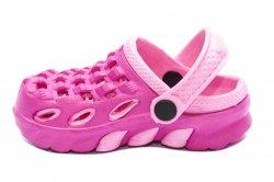 Papuci copii  - Papuci crocs fete de plaja 1033 roz fuxia 18-35