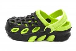 Crocs copii  - Papuci crocsi copii 1033 negru verde 18-29