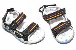 Sandale copii  - Sandale baieti 295 negru