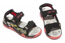 Sandale copii  - Sandale baieti 9729 negru