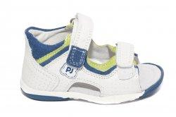 Sandale copii  - Sandale baieti Roby alb albastru verde 20-26