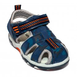 Sandale copii  - Sandale baieti brant din piele 1611 navi 20-25