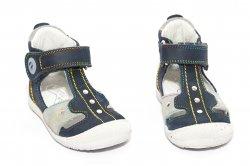 Sandale copii  - Sandale baieti hokide 273 albastru gri 18-24