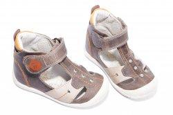Sandale copii  - Sandale copii hokide 273 maro port