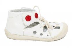 Sandale copii  - Sandale copii flexibile baby fox Tahiti 211401 alb 17-22