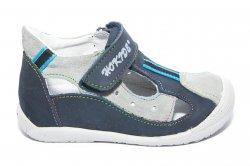 Sandale copii  - Sandale copii hokide 139 blu gri 18-24