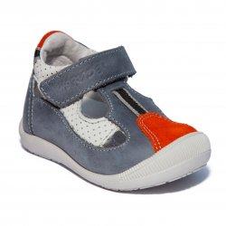 Sandale copii  - Sandale copii hokide 139 gri port 18-24