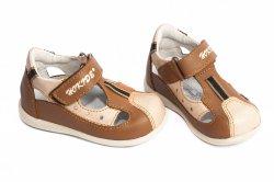 Sandale copii  - Sandale copii hokide 139 maro