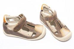 Sandale copii  - Sandale copii hokide 139 maro bej
