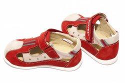 Sandale copii  - Sandale copii hokide 139 rosu