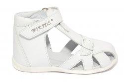 Sandale copii  - Sandale copii hokide 231 alb 18-24